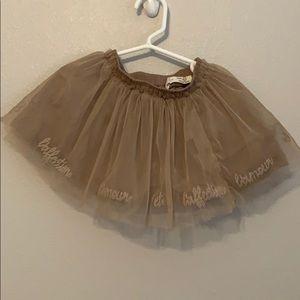 Zara Sparkly Tutu Skirt size 2-3
